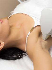 image of laser hair removal